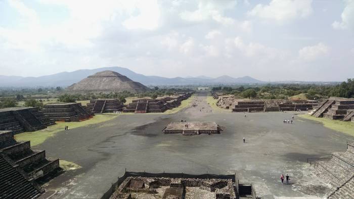 Teotihuacán, one of the most important cultural centres in Mesoamerica